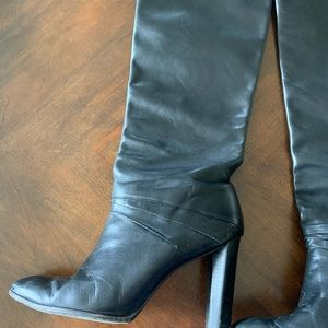 Diane Von Furstenburg Tall Black boots